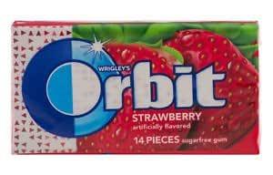 Orbit Gum strawberry 14pcs