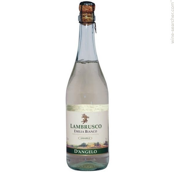 Bianco lambrusco white wine