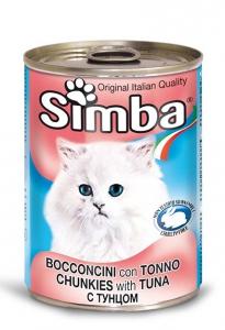 Simba chunkies & tuna 415g