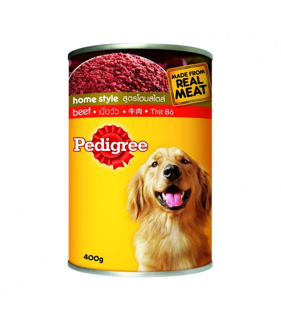 Pedigree with beef 400g
