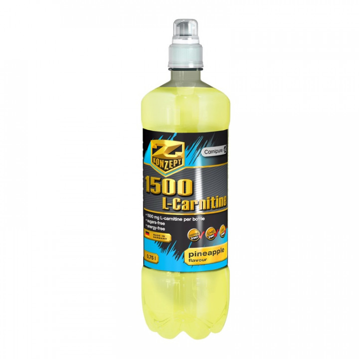 L-carnitine drink 1500 pineapple