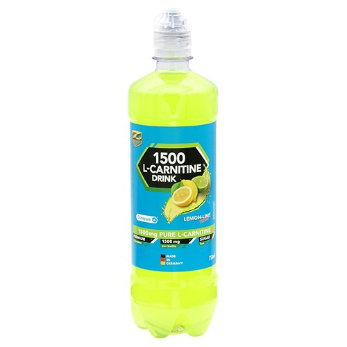 L-carnitine drink 1500 lemon-lime