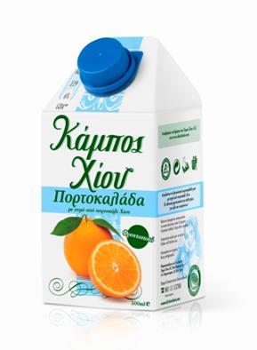 Kampos Xiou Juice Orange 500ml