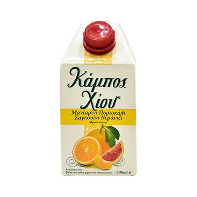 Kampos Xiou Juice 4 citrus 500ml