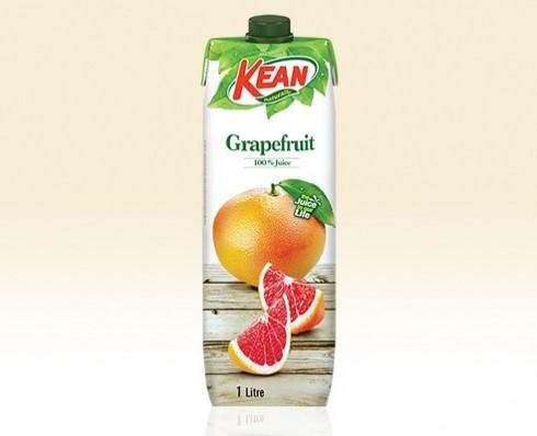 KEAN Juice Red Grapefruit 1L