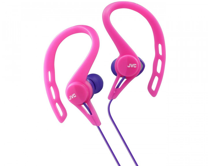 CLIP INNER EAR HEADPHONES / PINK 9MM