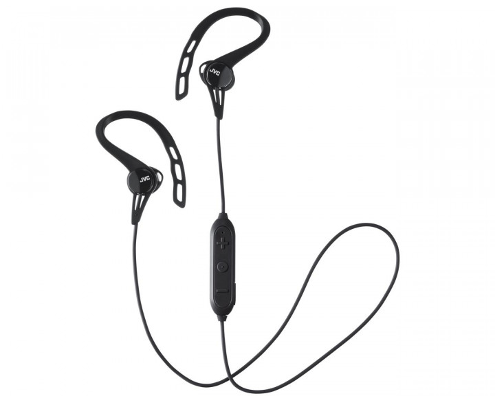 CLIP INNER EAR HEADPHONES / BLACK 9,0MM