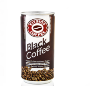 Kitsos black coffee 240ml