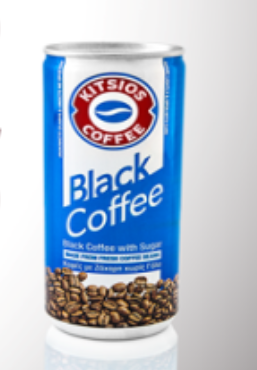 Kitsos black coffee blue 240ml