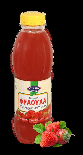 Cypria Strawberry Juice Drink 500ml