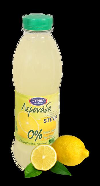 Cypria Lemonade with stevia Juice Drink 500ml