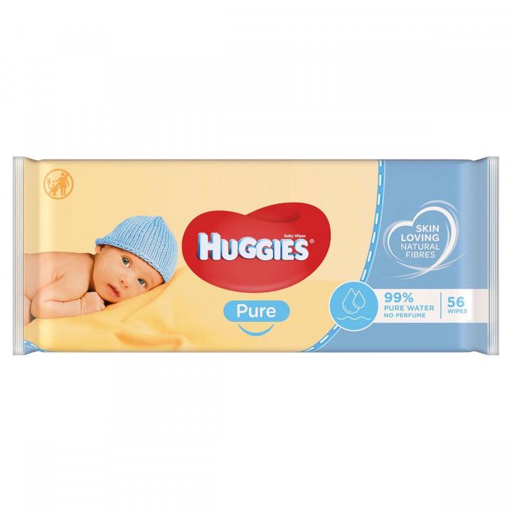 Huggies wet wipes x56