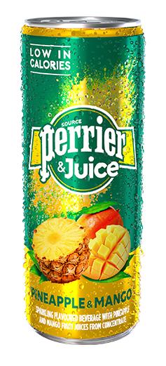Perrier Mango & Pineapple 250ml