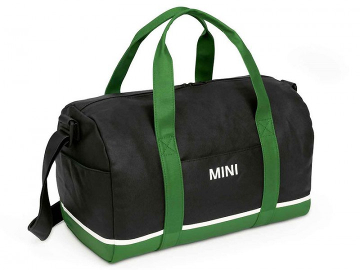 MINI Duffle Bag - Black / Green / White