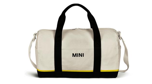 MINI Duffle Bag - White / Black / Yellow