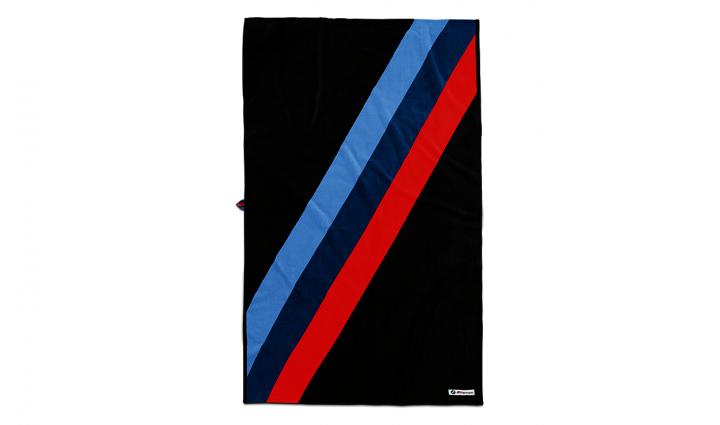 BMW M Motorsport towel - Black / White
