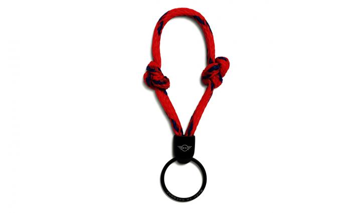 MINI Keyring Bracenet - Red / Blue