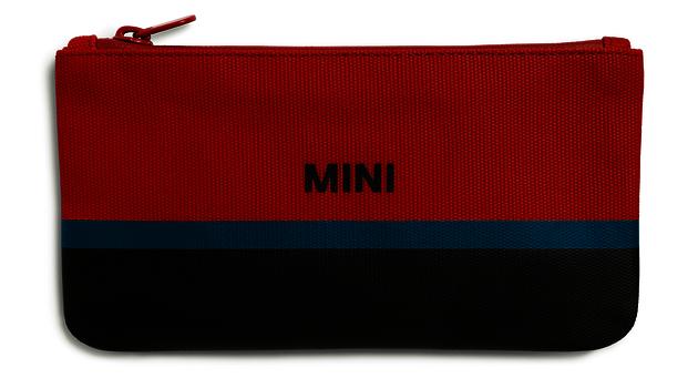 MINI Pouch Small  - Red / Black / Island