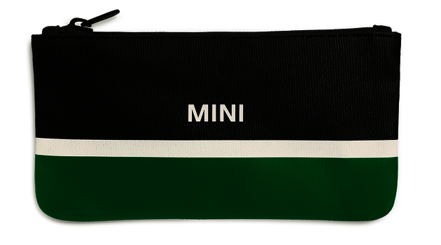 MINI Pouch Small  - Black / Green / White