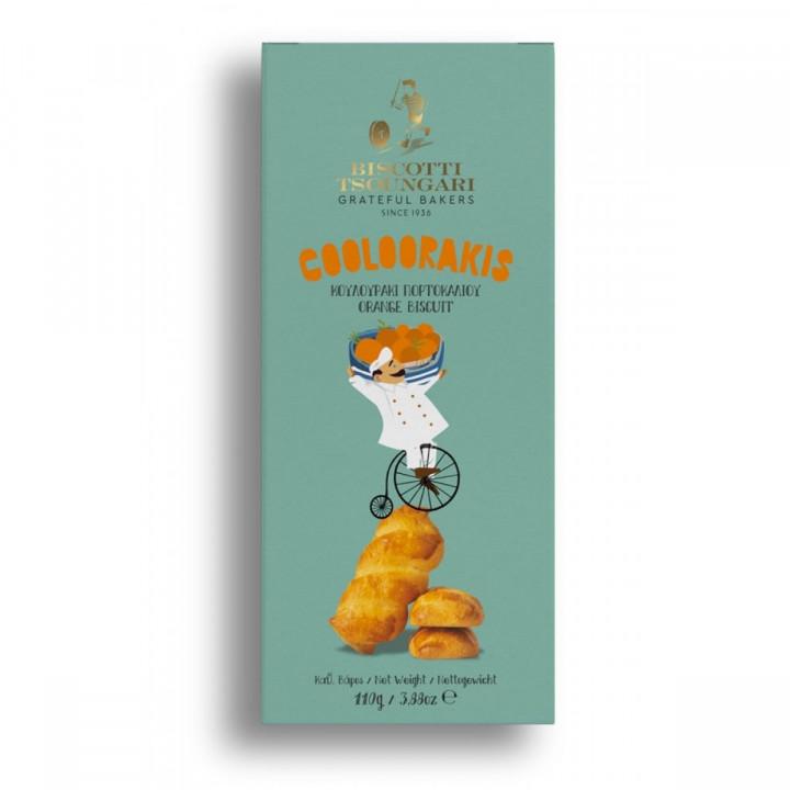 Cooloorakis - Orange Biscuits 110g