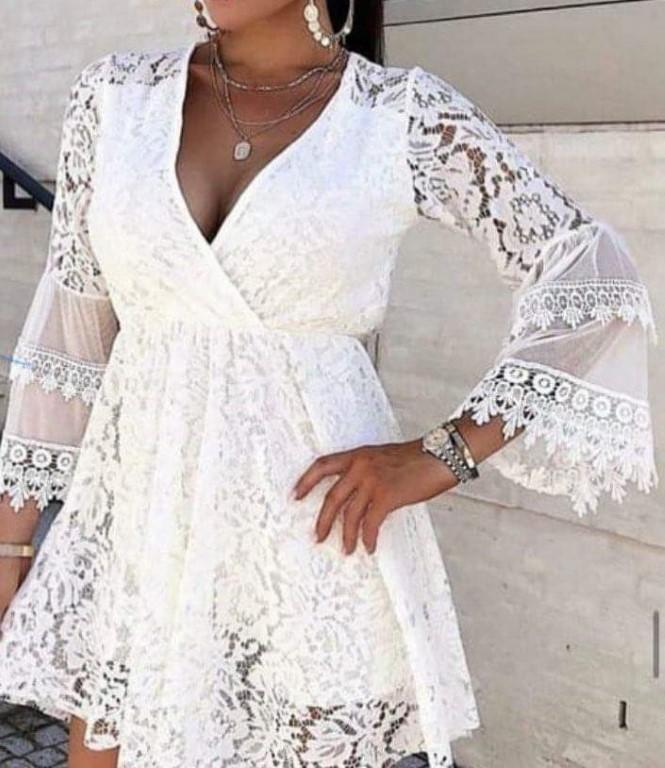 White lace dress - size 12