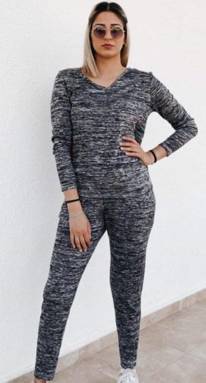 Sport /casual - Dark Grey - size 8