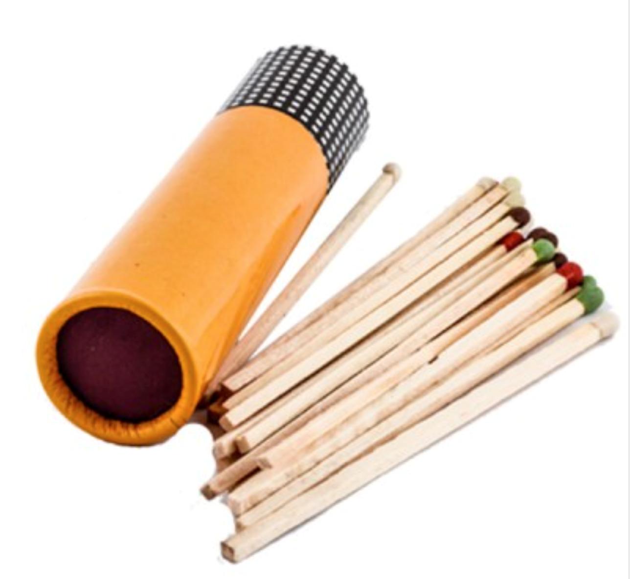 Cohiba Cigar matches in tube (20 tubes)