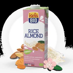 ISOLA Rice drink almond 1L Bio
