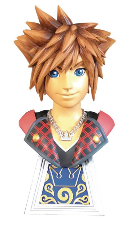Kingdom Hearts 3 Legends in 3D Bust 1/2 Sora 25 cm