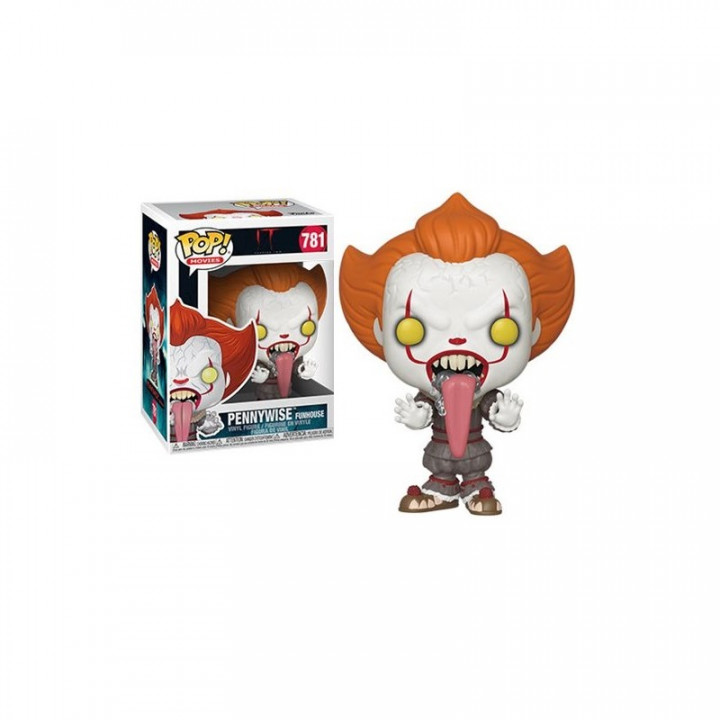 Stephen King's It 2 POP! Movies Vinyl Figure Pennywise with Dog Tongue 9 cm