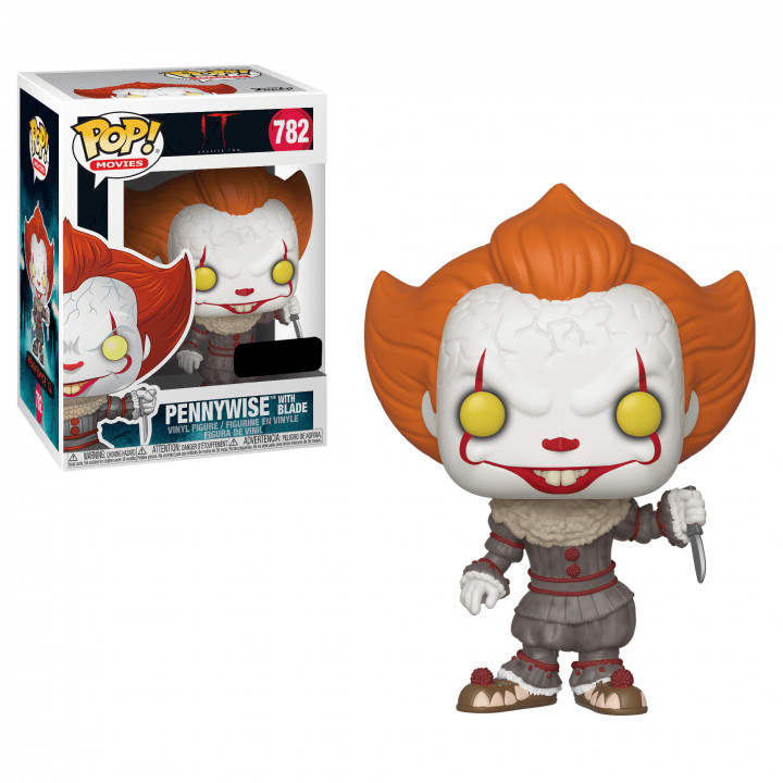 Stephen King's It 2 POP! Movies Vinyl Figure Pennywise with Blade 9 cm