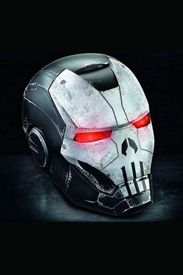 Marvel Legends Gamerverse Electronic Helmet Punisher War Machine (Marvel Future Fight)