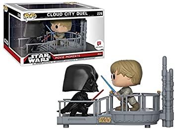 Star Wars POP! Movie Moments Vinyl Bobble-Head 2-Pack Cloud City Duel 9 cm