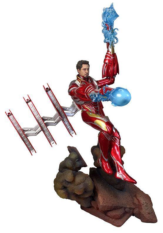 Avengers Infinity War Marvel Movie Gallery PVC Statue Iron Man MK50 Unmasked 23 cm