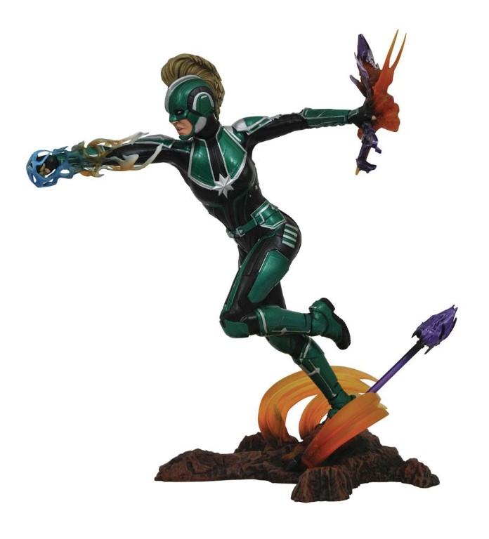 Captain Marvel Marvel Movie Gallery PVC Statue Captain Marvel 23 cm