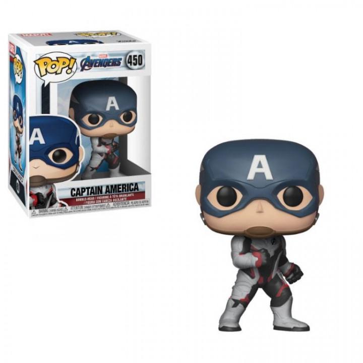 Avengers Endgame POP! Movies Vinyl Figure Captain America 9 cm