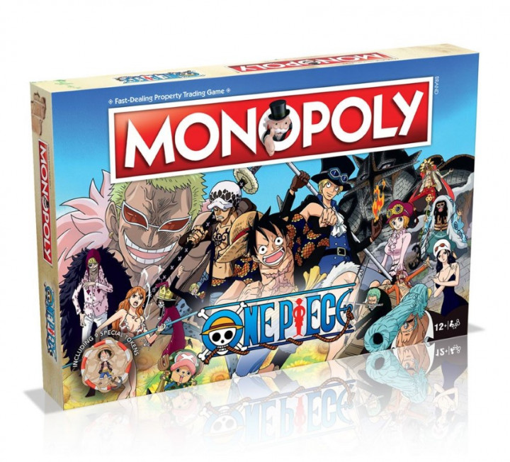 One Piece Board Game Monopoly