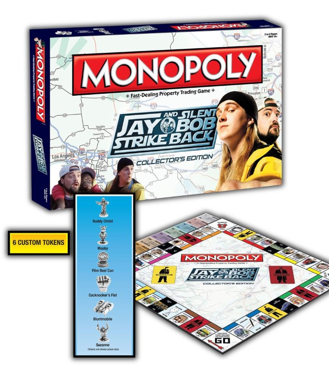 Jay and Silent Bob Strike Back Board Game Monopoly