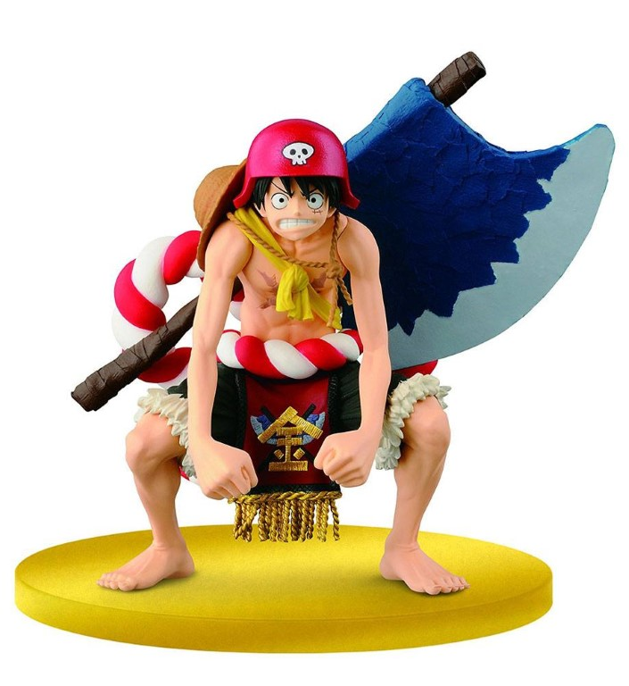 One Piece Film Gold SCultures Figure Big Zoukeio Special Luffy 12 cm