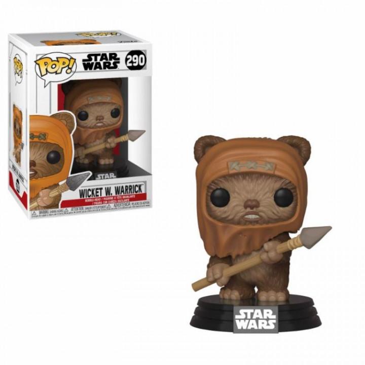 Star Wars POP! Movies Vinyl Figure Wicket 9 cm