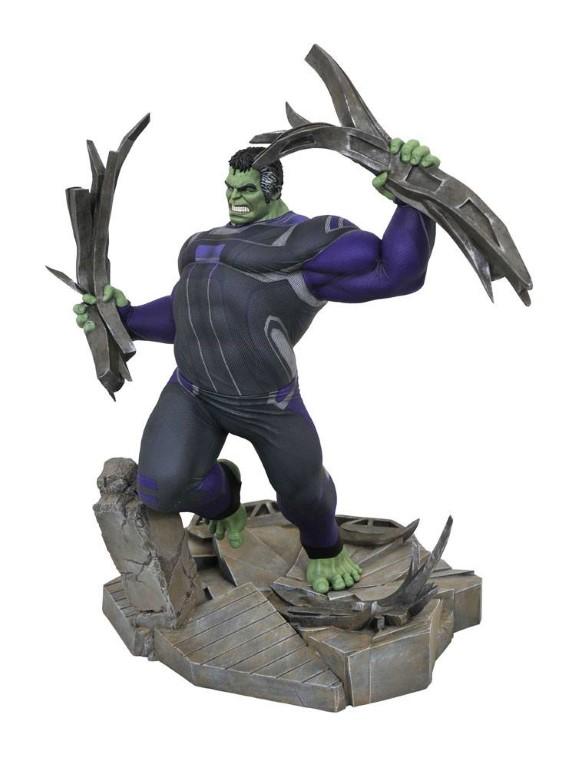 Avengers: Endgame Marvel Movie Gallery PVC Diorama Tracksuit Hulk 23 cm