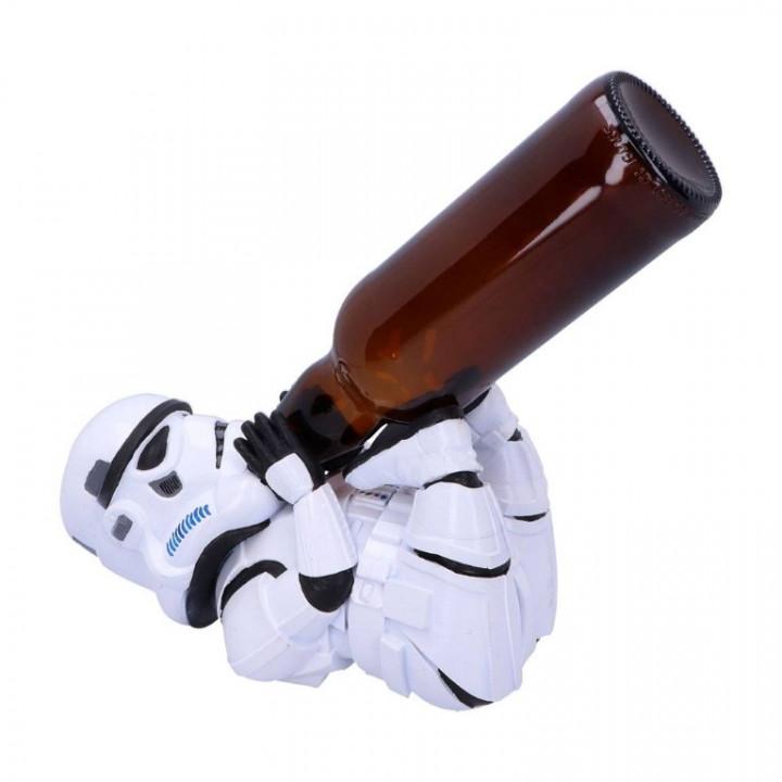 Original Stormtrooper Bottle Holder Guzzler Stormtrooper 22 cm