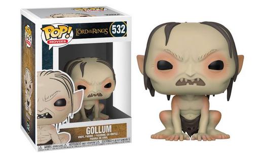 Lord of the Rings POP! Movies Vinyl Figures Gollum 9 cm