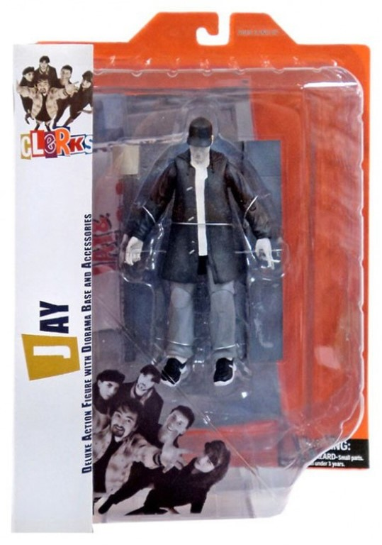 Clerks - Jay Deluxe Action Figure With Diorama Base and Accessories