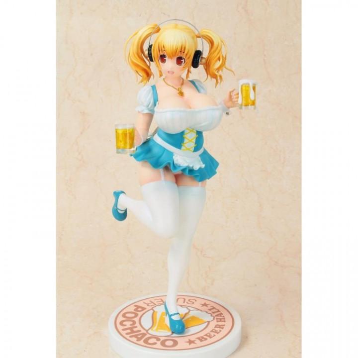 Nitro Super Sonic 1/6 Super Pochaco Beer Girl Ver. 29 cm PVC Statue