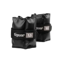Tiguar Ankle Weights 1,5 Kg Pair (Light Grey)