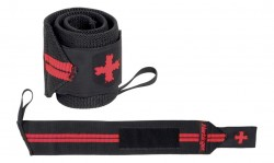 Harbinger Red Line Wrist Wraps 18 inches Black/Red