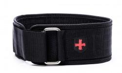 Harbinger 4 inch Nylon Belt Medium Black