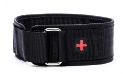 Harbinger 4 inch Nylon Belt Large Black