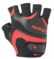 Harbinger Men Flexfit Glove Large Black/Red